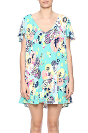 Judith March Japanese Floral Dress - Side cropped