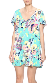 Judith March Japanese Floral Dress - Front cropped