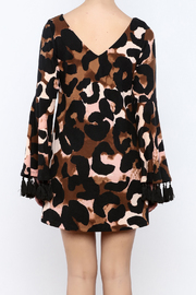 Judith March Leopard Print Dress - Back cropped