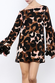 Judith March Leopard Print Dress - Product Mini Image