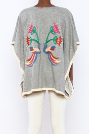 Judith March Santa Fe Embroidered Topper - Back cropped