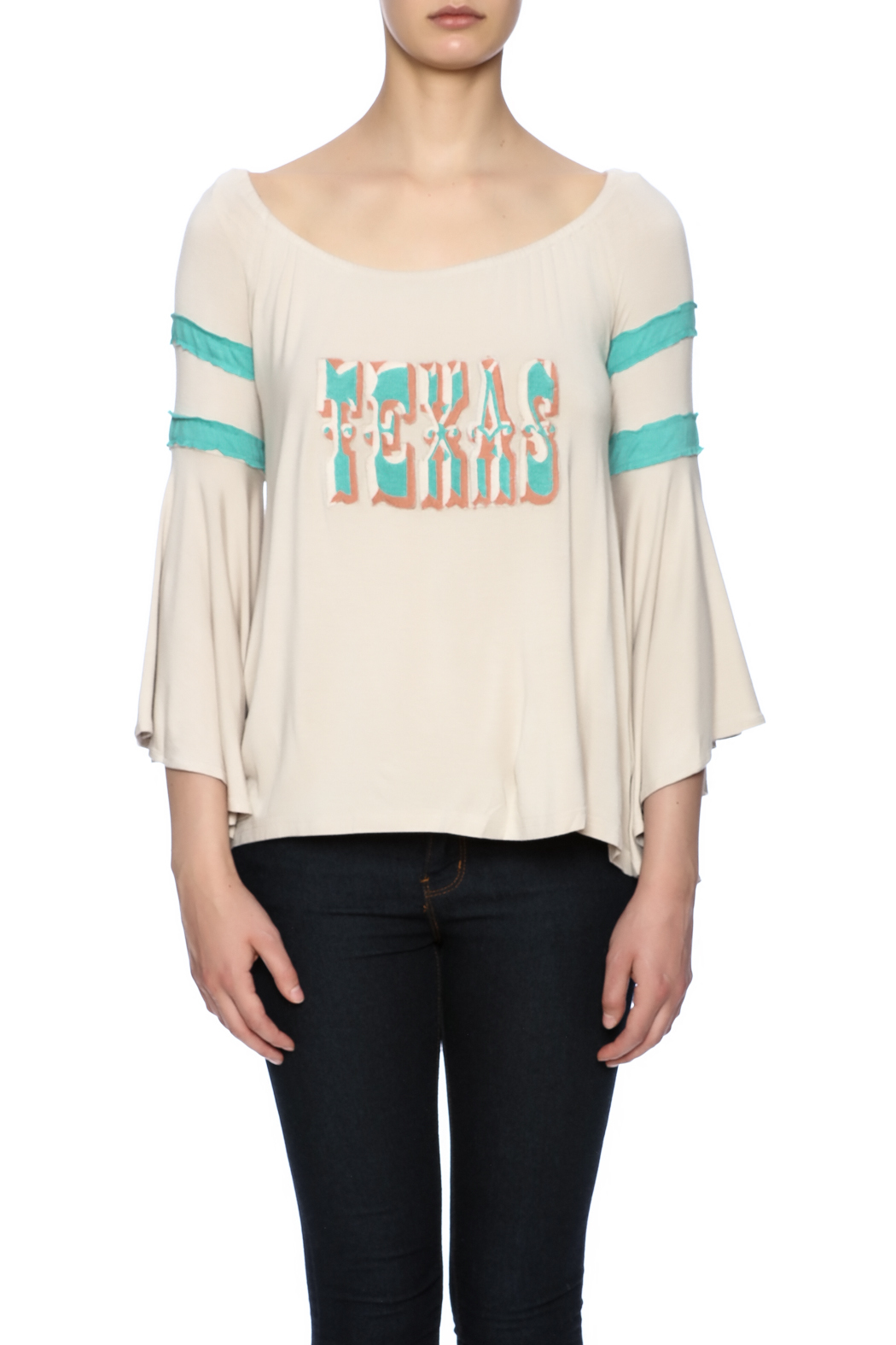Judith March Texas Embroidered Top - Main Image