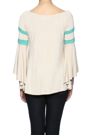 Judith March Texas Embroidered Top - Back cropped