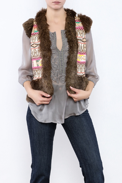 Judith March Tribal Boho Vest - Product List Image