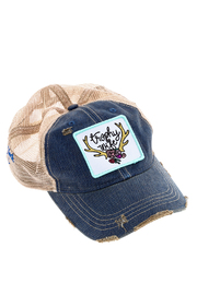 Judith March Trophy Wife Cap - Front cropped