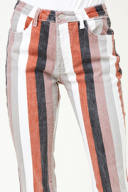 saints and hearts Judith Striped Bell Bottoms - Other