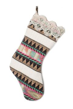 Judith March Aztec Holiday Stocking - Alternate List Image