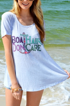 Judith March Boat Hair Tee - Alternate List Image
