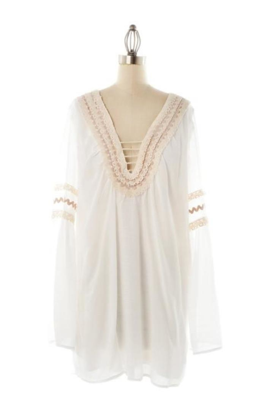 Judith March Dress Cover-Up - Front Full Image