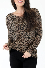 Judith March Lala Leopard Sweater - Product Mini Image