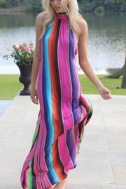 Judith March Multicolor Halter Maxi - Product Mini Image