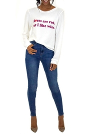 Judith March Roses And Wine - Front full body