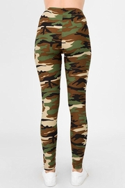 Judson & Co. Camouflage Leggings - Side cropped