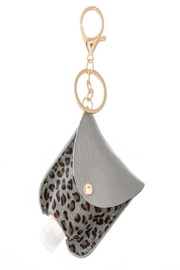 Judson & Co. Hand Sanitizer - Leather-Leopard-Key-Chain - Product Mini Image