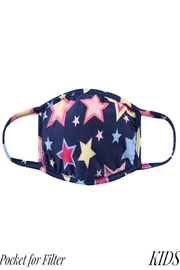 Judson & Co. Mask - Kids - Blue-Stars - Filter - Product Mini Image