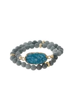 Shoptiques Product: Natural Stone Bracelet