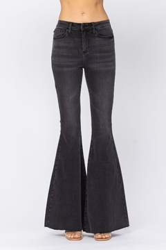 Judy Blue Black High-Rise Super Flare jean - Product List Image