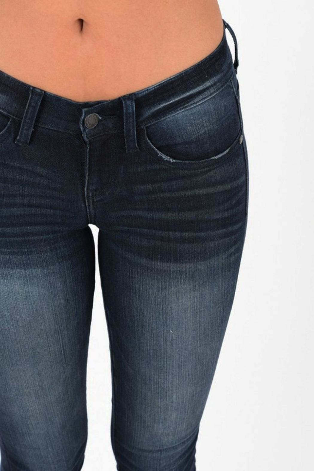 Judy Blue Dark Stretch Skinny - Front Full Image