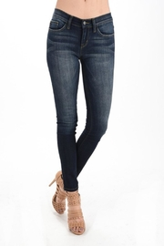 Judy Blue Dark Wash Skinnys - Front cropped