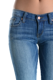 Judy Blue Stone Washed Skinnys - Front full body
