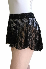 jule dancewear Flare Lace Skirt(black) - Product Mini Image