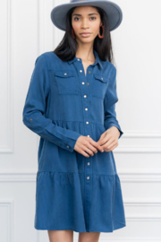 The Shirt Rochelle Behrens  Jules Dress - Product Mini Image