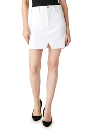 J Brand Jules High-Rise Cutout Mini Skirt - Product Mini Image