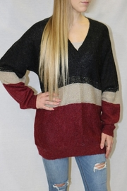 Bishop + Young Jules Tunic Colorblock Sweater - Product Mini Image