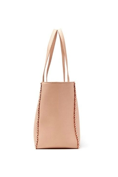 JULES KAE Nude Leather Tote - Alternate List Image