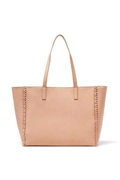 JULES KAE Nude Leather Tote - Product List Image