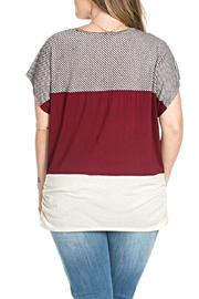 Julia Color Blocked Top - Side cropped