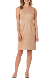 Jude Connally Julia Faux-Suede Sheath-Dress - Product Mini Image