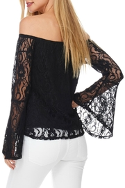 Julia Lace Bell Sleeve - Front full body