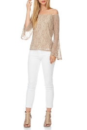 Julia Lace Bell Sleeve - Front cropped