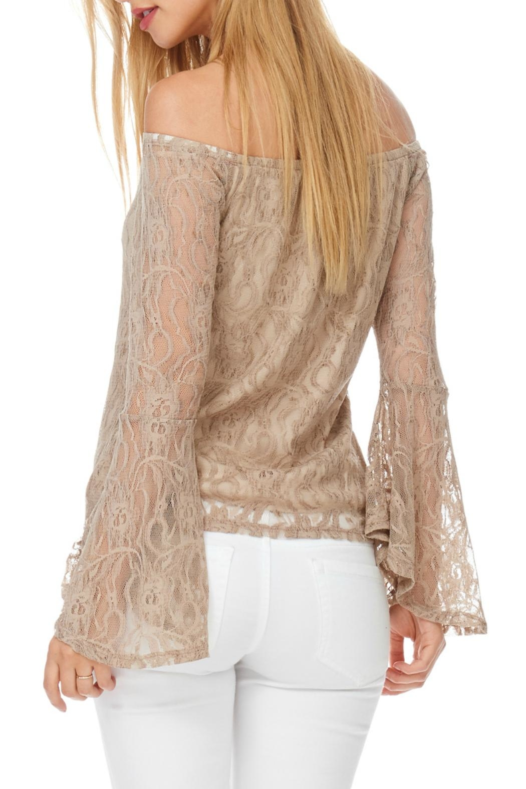 Julia Lace Bell Sleeve - Front Full Image