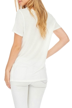 Julia Casual White Long Top - Alternate List Image
