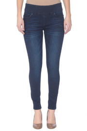 Lola Jeans Julia Mid-rise Stretch Pull-on Ankle Jean - Product Mini Image