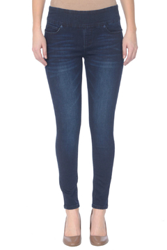 Lola Jeans Julia Mid-rise Stretch Pull-on Ankle Jean - Product List Image