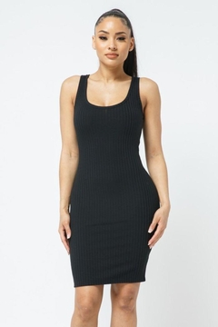 Shoptiques Product: Scoop Neck Bodycon Dress