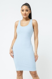 Julia Scoop Neck Bodycon Dress - Side cropped