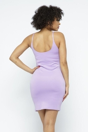 Julia Scuba Bodycon Tank Mini Dress - Side cropped