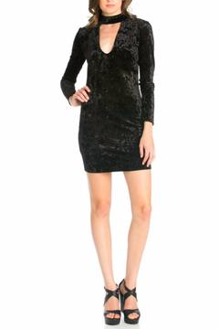 Shoptiques Product: Velvet Choker Dress