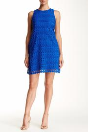 Julia Jordan Geo-Lace Shift Dress - Product Mini Image
