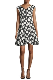 Julia Jordan Polkadot Flair Dress - Product Mini Image