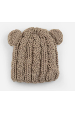 The Blueberry Hill Julian Cable Bear Knit Hat - Product List Image