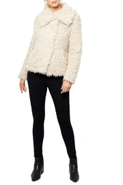 love token Juliana Furry Jacket - Back cropped