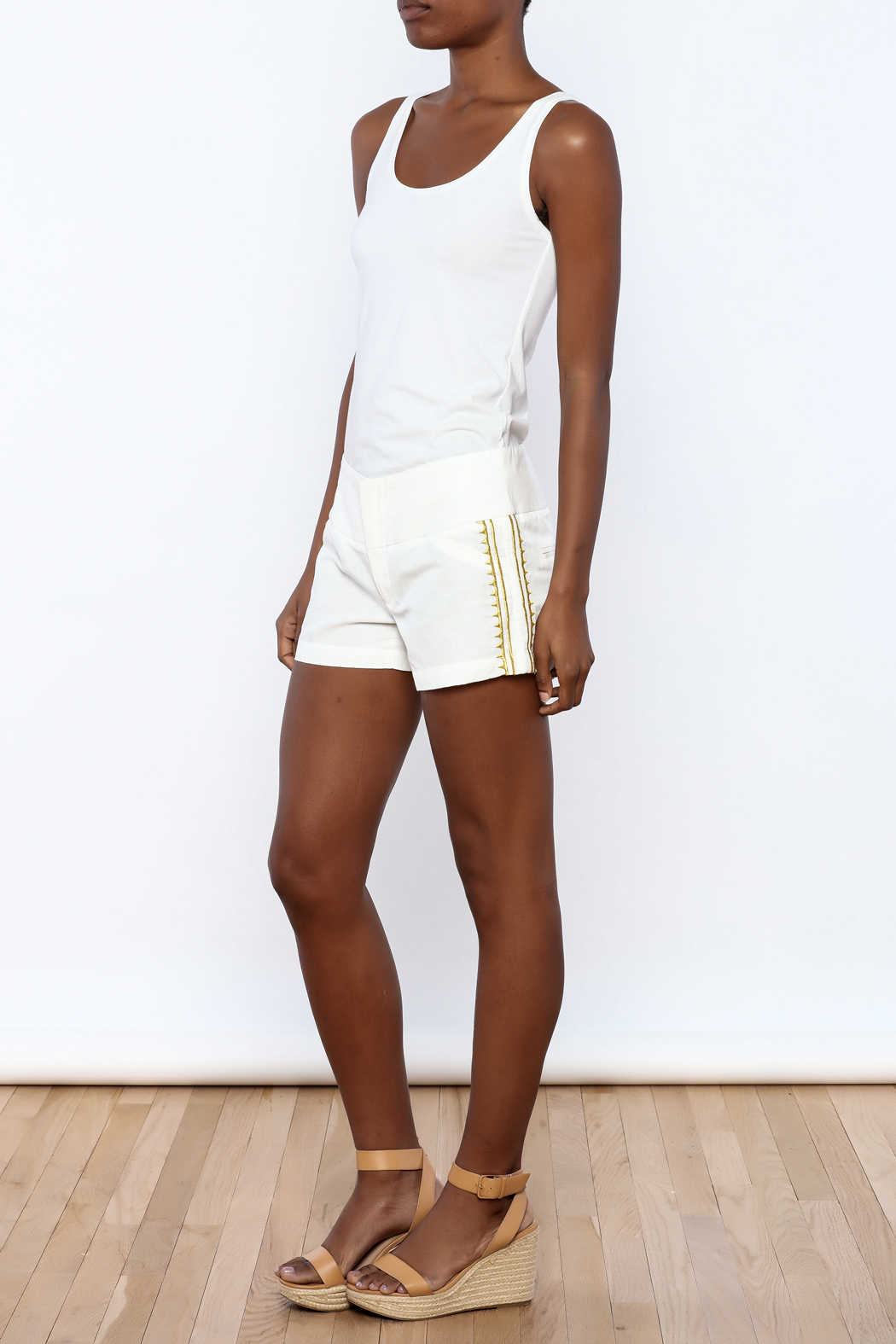 Julie Brown Designs Currie Shorts - Front Full Image
