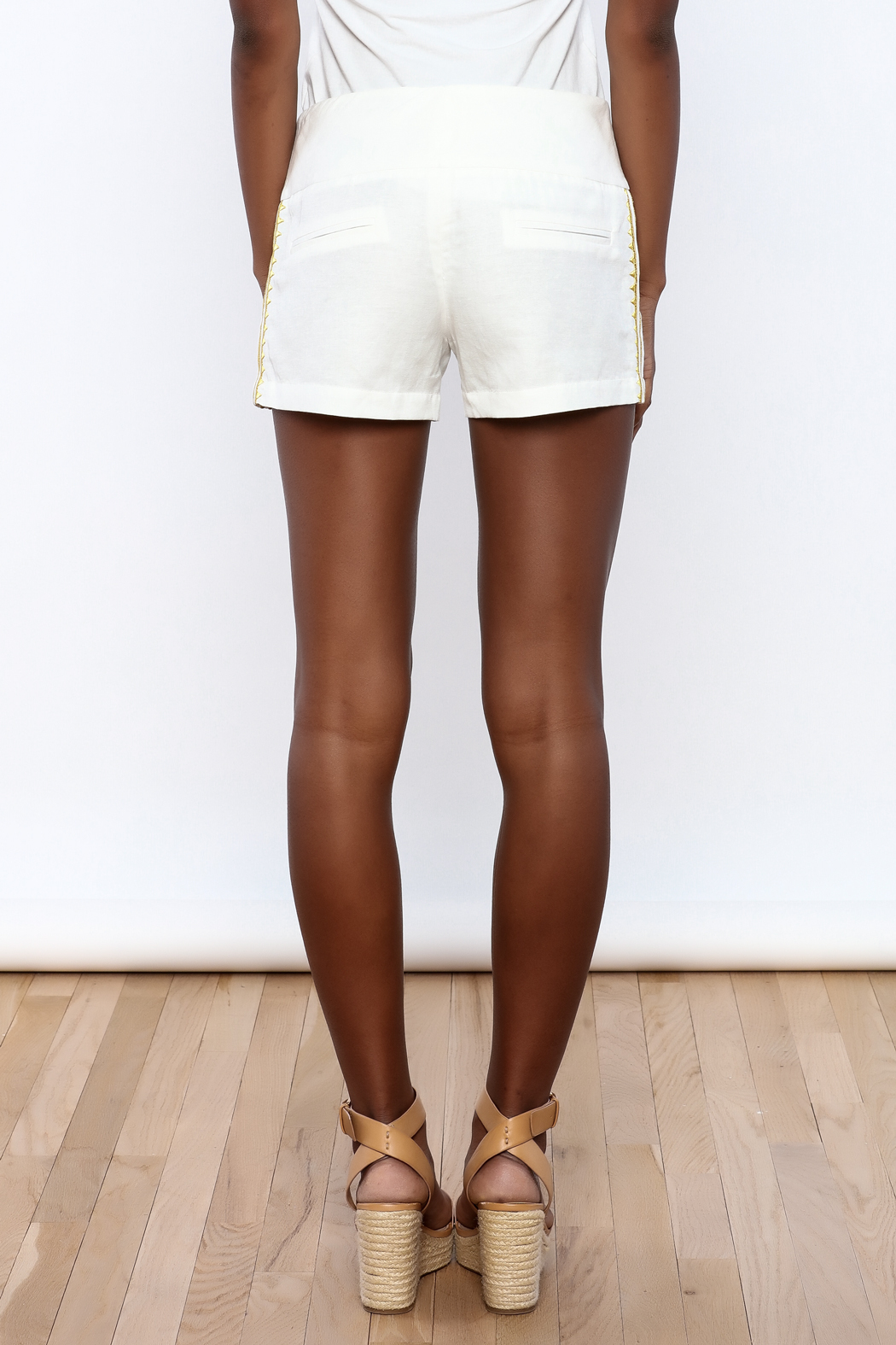 Julie Brown Designs Currie Shorts - Back Cropped Image