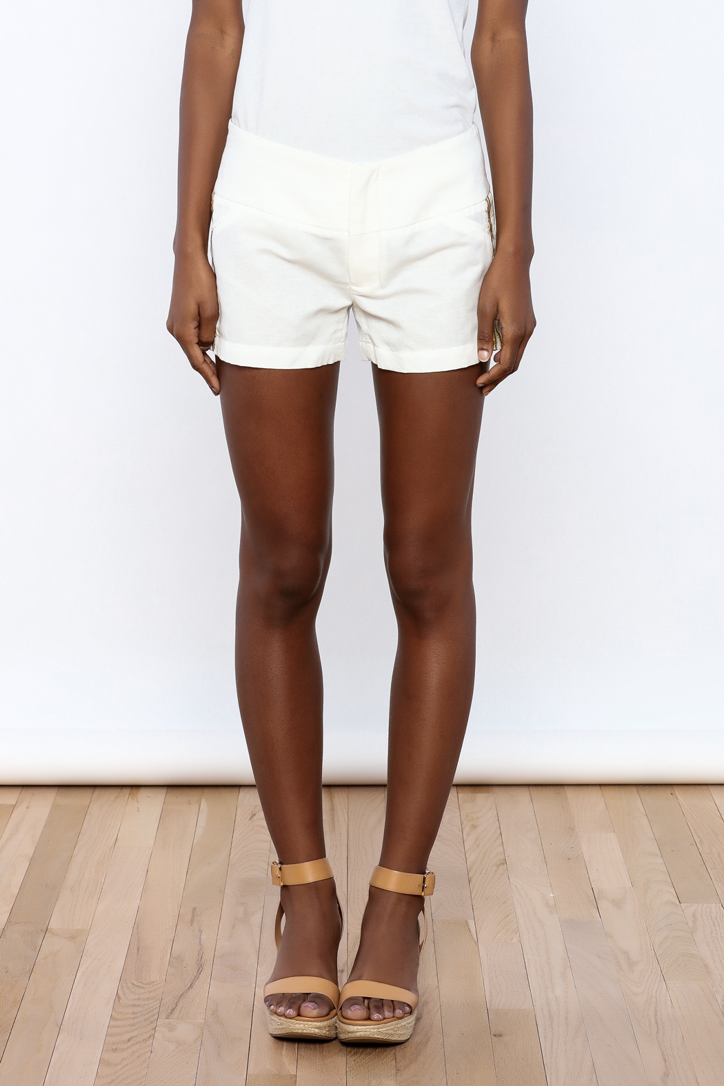 Julie Brown Designs Currie Shorts - Side Cropped Image