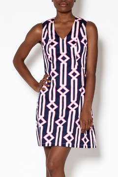 Julie Brown NYC Navy Sleeveless Dress - Product List Image
